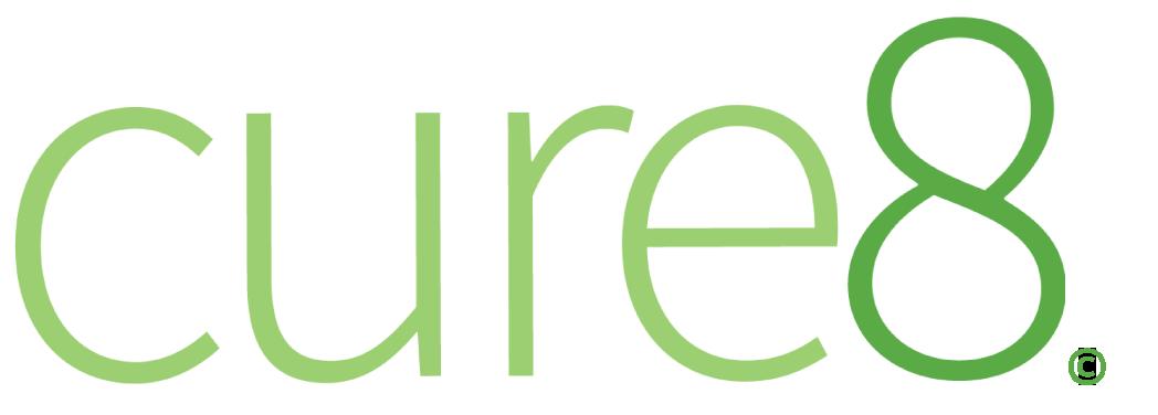 Cure8 logo